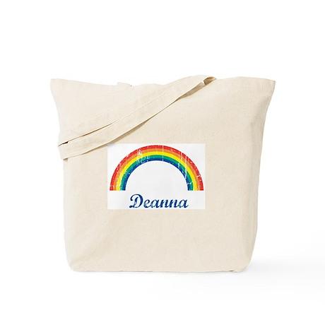 Deanna vintage rainbow Tote Bag
