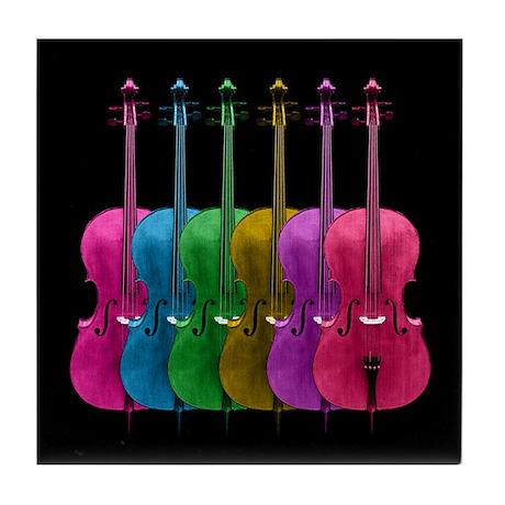Colorful Cello Tile Co...