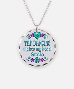 Tap Dancing Smiles Necklace