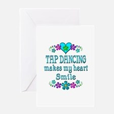 Tap Dancing Smiles Greeting Card