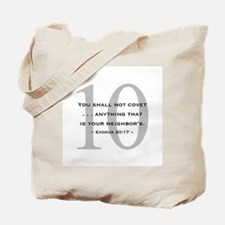10 Commandments 10 - Tote Bag