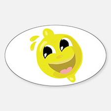 Happy Lemon Decal