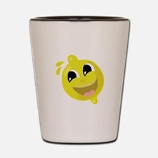 Happy Lemon Shot Glass