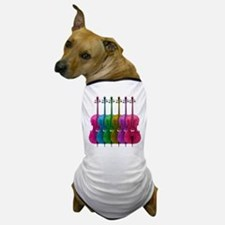 Colorful Cello Dog T-Shirt