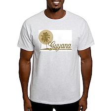 Palm Tree Guyana T-Shirt
