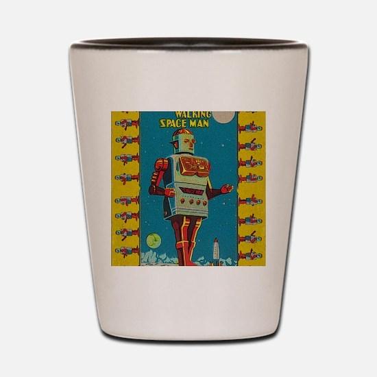 Funny Vintage Shot Glass