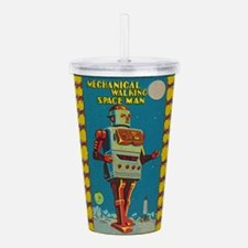 Cute Vintage Acrylic Double-wall Tumbler
