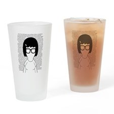 Tina Belcher Drinking Glass