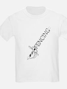 Fencing Rapier T-Shirt