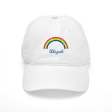 Aliyah vintage rainbow Baseball Cap
