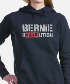 Bernie Revolution Women's Hooded Sweatshirt