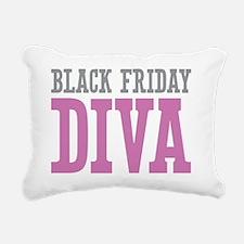 Black Friday DIVA Rectangular Canvas Pillow