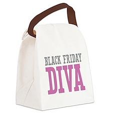 Black Friday DIVA Canvas Lunch Bag