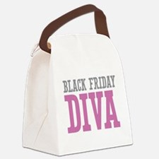 Black Friday DIVA Canvas Lunch Bag