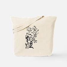 Animal Family Tree Tote Bag