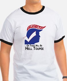 Funny Trump Hell Toupee T-Shirt