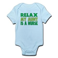 Relax My Aunt Is A Nurse Body Suit