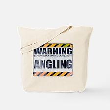 Warning: Angling Tote Bag