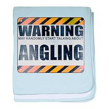 Warning: Angling Infant Blanket