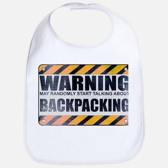 Warning: Backpacking Bib