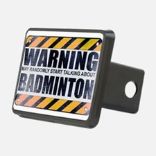 Warning: Badminton Hitch Cover