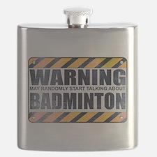 Warning: Badminton Flask