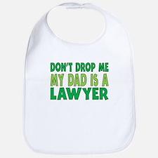 My Dad Is A Lawyer Bib