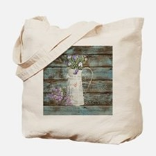 rustic lavender western country  Tote Bag