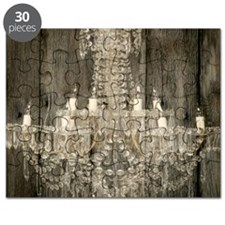 shabby chic rustic chandelier Puzzle