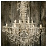Chandelier Wrapped Canvas Art
