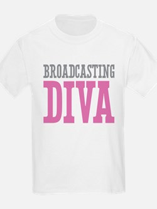 Broadcasting DIVA T-Shirt