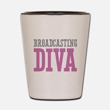 Broadcasting DIVA Shot Glass