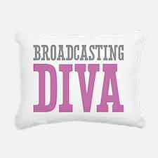 Broadcasting DIVA Rectangular Canvas Pillow