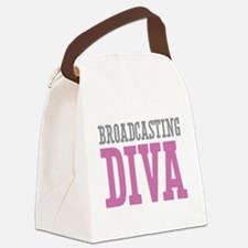 Broadcasting DIVA Canvas Lunch Bag