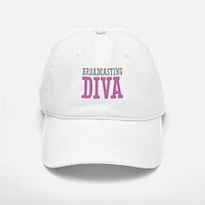 Broadcasting DIVA Baseball Baseball Cap