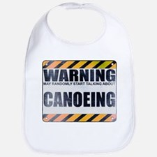 Warning: Canoeing Bib