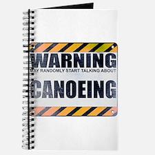 Warning: Canoeing Journal