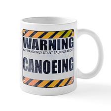 Warning: Canoeing Mug