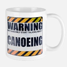 Warning: Canoeing Mug
