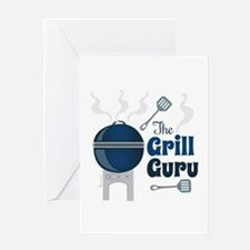 Grill Guru Greeting Cards