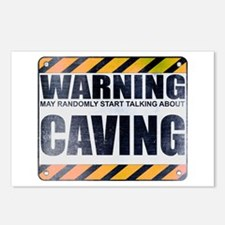 Warning: Caving Postcards (Package of 8)