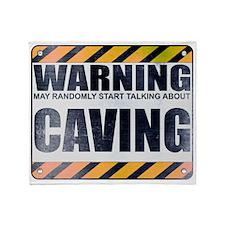 Warning: Caving Stadium Blanket