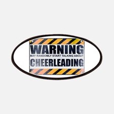Warning: Cheerleading Patches