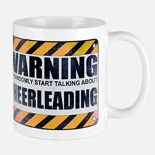 Warning: Cheerleading Mug