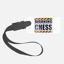 Warning: Chess Luggage Tag