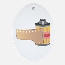 Film Roll Oval Ornament