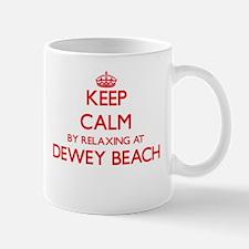 Keep calm by relaxing at Dewey Beach Delaware Mugs