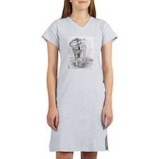 African Elephants Women's Nightshirt