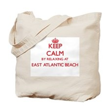 Keep calm by relaxing at East Atlantic Be Tote Bag