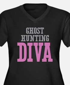 Ghost Hunting DIVA Plus Size T-Shirt